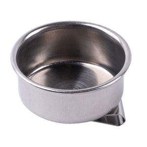 Масленка металлическая одинарная диаметр 4,5 см высота 1,7 см