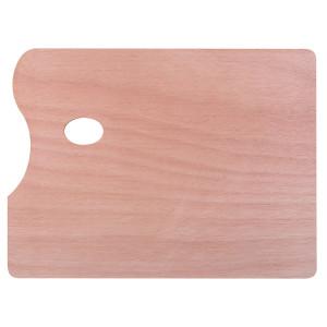 Палитра художественная деревянная прямоугольная 30х40 см толщина 5 мм Сонет
