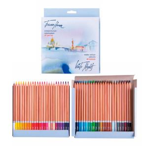 Набор акварельных карандашей Белые Ночи 48 цветов в картоне