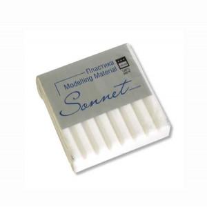 Полимерная глина Сонет, 56 г, цвет флуоресцентный белый