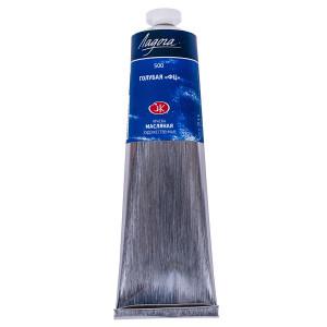 Краска масляная Ладога, туба 120 мл, голубая ФЦ № 500
