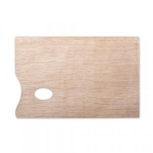 Палитра художника деревянная прямоугольная 230х306 мм