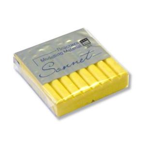 Полимерная глина Сонет, 56 г, цвет желтый светл