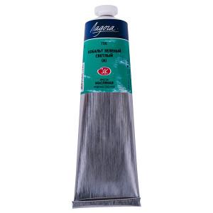 Краска масляная Ладога, туба 120 мл, кобальт зелёный светлый (А) № 706