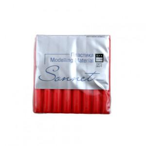 Полимерная глина Сонет, 56 г, цвет красный