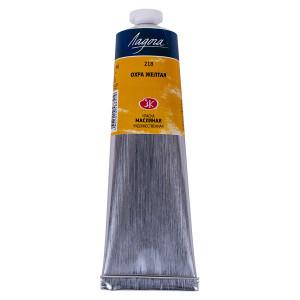 Краска масляная Ладога, туба 120 мл, охра жёлтая № 218