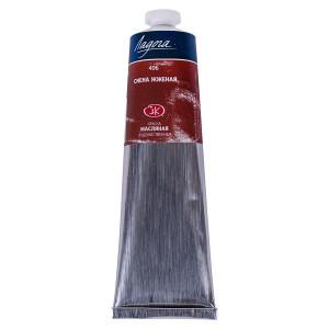 Краска масляная Ладога, туба 120 мл, сиена жжёная № 406