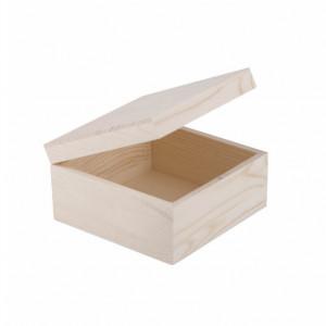 Шкатулка деревянная Сонет 150х150х80 см сосна