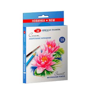 Набор акварельных карандашей Сонет 18 цветов