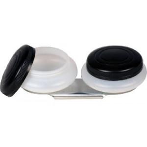 Масленка Сонет двойная с крышкой, диаметр 4,5 см, высота 1,7 см