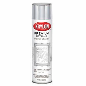 """KRYLON Аэрозоль """"Премиум Металлик"""" 226 гр., хром"""